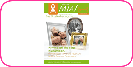 Mamma Mia Krebsfamilie mit Rahmen