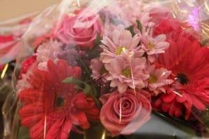 Blumen für Unterstützer, Spender und Sponsoren von Brustkrebs Deutschland e.V.