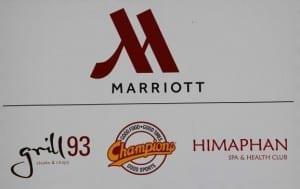 Veranstaltungsort Marriott München