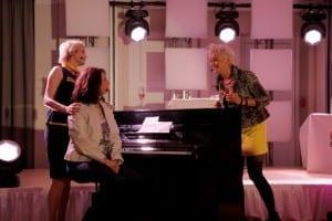 Auftritt Sekt and the City - 3 Frauen mit Mumm