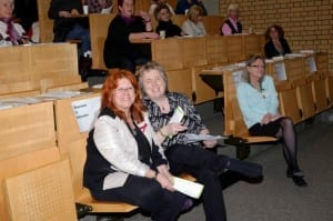 R. Haidinger und Prof. Dr. Nadia Harbeck