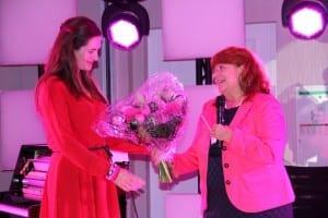 Blumen für Natalie Schmid (Esteé Lauder)