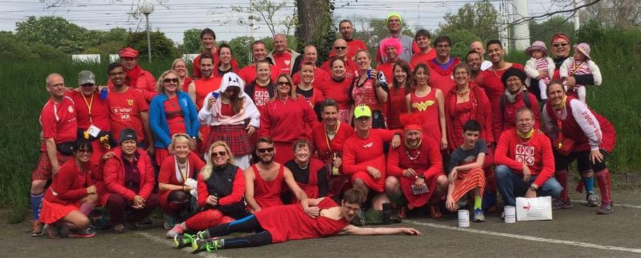 Stuttgart Hash Red Dress Run 2016