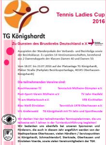Plakat TG Konigshardt 2016