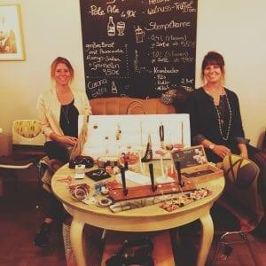 Vlnr.: Tessa Wehner und Tatjana Dunger