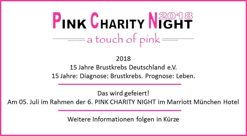 Pink Charity Night – Brustkrebs Deutschland e.V.