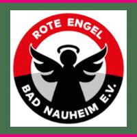 Rote Engel mit Rahmen